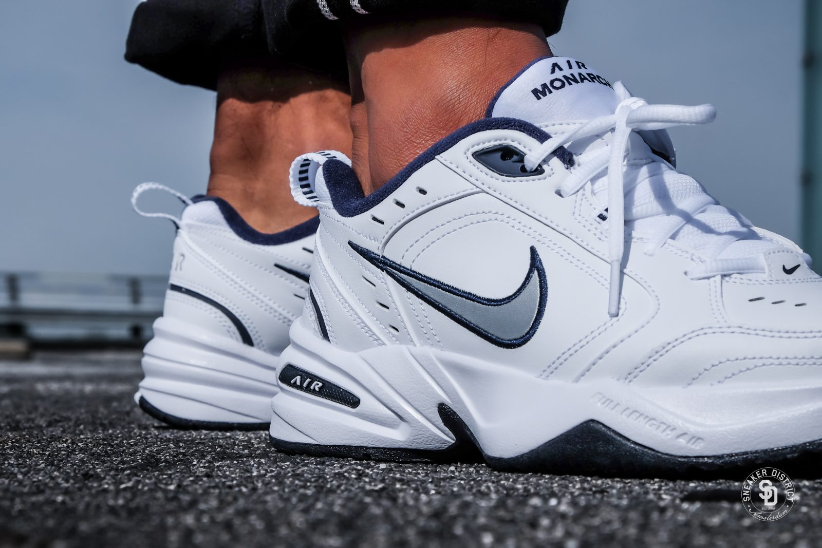white dad shoes